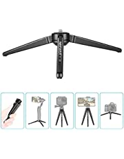 Neewer Metal Mini Tripod,Desktop Tabletop Stand Tripod for V5,Smooth 4,Crane Plus,Crane 2,OM 4,Osmo Mobile,Ronin-S,Vimble 2,iSteady Mobile Gimbal Handle Grip Stabilizer and Cameras,Load up to 11lbs