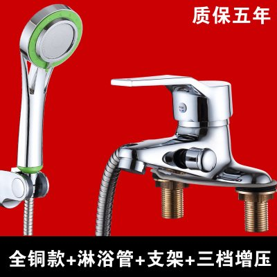The Third Set With Double Copper Ielts SunSuiCopper dual basin faucet double double basin wash basin with hot and cold water shower water general,IELTS all copper double single tap