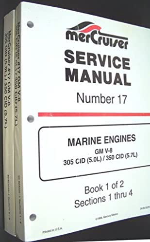 mercruiser service manual number 17 marine engines gm cid 5 0l rh amazon com Mercruiser Cooling System Mercruiser Replacement Parts