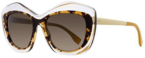 Fendi Women's Statement Sunglasses, Crystal/Brown Gradient, One - Shopping Fendi
