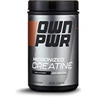 OWN PWR Micronized Creatine Unflavored Monohydrate Powder
