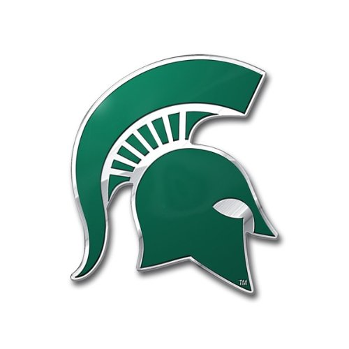 (Team ProMark NCAA Michigan State Spartans Die Cut Color Auto)