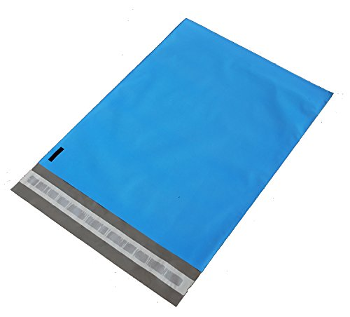100 10x13 BLUE Poly Mailers Shipping Envelopes Bags By ValueMailers by ValueMailers