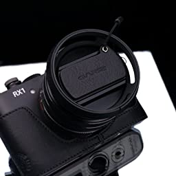 Gariz Leather XA-CFRX1BK Camera Capfix for Sony RX1RII RX1 Lens Cap, Black