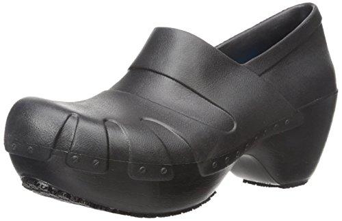 Dr. Scholl's Women's Trance Slip Resistant Clog, Black, 10 M US by Dr. Scholl's