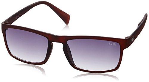 Espee Gradient Square Men's Sunglasses – (ESS7101C352SG|52|Smoke Gradient lens)