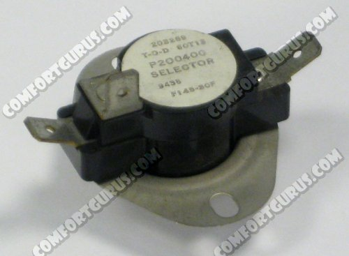 Williams Furnace P200400 F145-30F SELECTOR SWITCH
