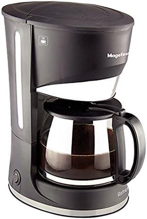 Magefesa 02CF3245000 Cafetera goteo 12 tazas Ristretto 800 W cups, Acero inoxidable, Multicolor: Amazon.es: Hogar