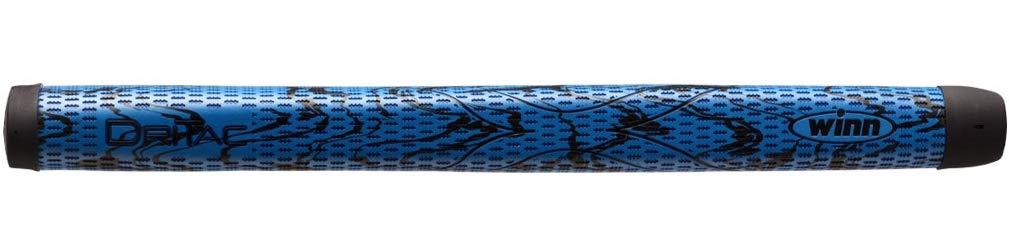 Winn DriTac X Medallist Pistol Putter Golf Grip, Blue/Black by Winn