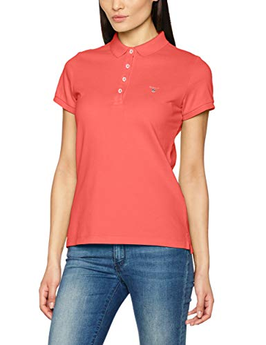 Rouge Femme Polo watermelon Gant Pique Red Original 648 The XpwxnqI1R