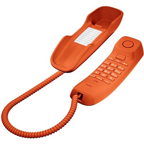 359 opinioni per Gigaset DA210 Telefono Fisso, Arancione