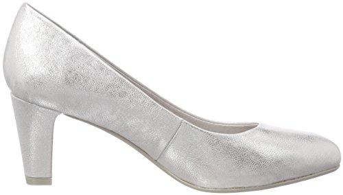 Con silver Scarpe Tacco Natural Donna white 22440 Be Argento p6wtqnv88
