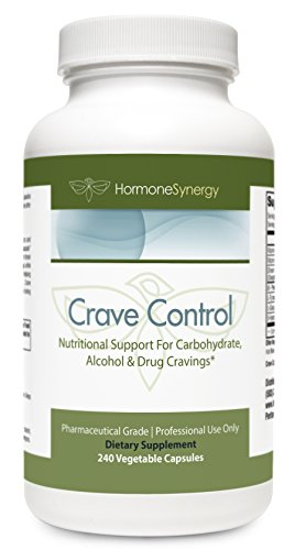 (Crave Control | 240 Veg. Caps | 5-HTP, DL-Phenylalanine, L-Tyrosine, L-Glutamine, Chromium | Support for Carbohydrate, Alcohol & Drug Cravings* | Pharmaceutical Grade)