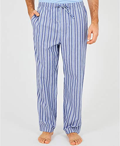 Nautica Men's Sultan-Striped Woven Pajama Pant, Cornflower, - Boyfriend Pj Pant