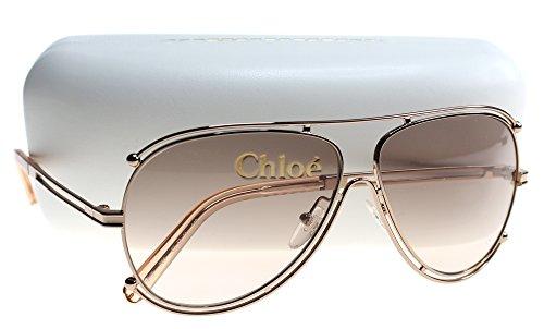 chloe-womens-isidora-rose-gold-peach-sunglasses
