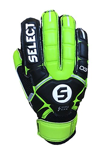 Select Sport America 3 Youth Hard Ground Goalkeeper Gloves, 6