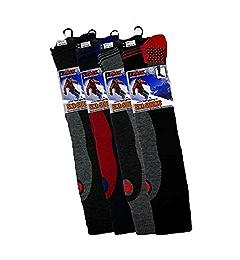 4 Mens Erbro® Winter-Sports High Performance Thermal Ski Socks UK 6-11