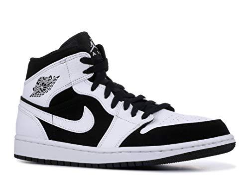 Buy retro 1 jordans men black and white