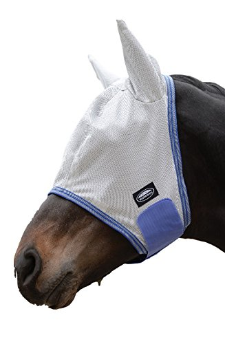 Weatherbeeta ComFiTec Airflow Mask Cob Gray/Blue/G by Weatherbeeta