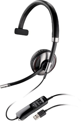 System Usb Bluetooth Headset (Plantronics Blackwire C710 Headset Mono - USB - Wired/Wireless - Bluetooth - 20 Hz - 20 kHz - Over-the-head - Monaural - Semi-open - Noise Cancelling Microphone)