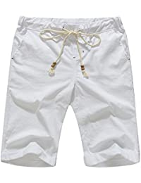 Men's Linen Casual Classic Fit Short