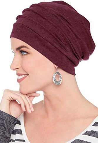Headcovers Unlimited Slouchy Snood-Cancer Headwear for Women False