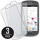 Samsung Galaxy Exhibit Screen Protector Cover, MPERO Collection 3 Pack of Matte Anti-Glare Screen Protectors for Samsung Galaxy Exhibit T599