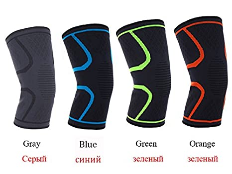 4f56a97aec 1 Pcs Knee Support Protect TIMOWIN Brand Fitness Running Cycling Braces  Kneepad Elastic Nylon Sport Gym Knee Pad Warm Sleeve: Amazon.in: Clothing &  ...
