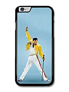 "AMAF ? Accessories Freddie Mercury Queen Yellow Jacket case for iPhone 6 (4.7"")"