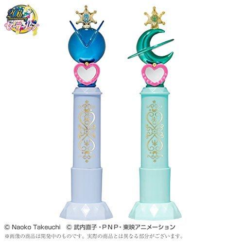 Bishoujo senshi Sailor Moon Prism stationary miracle name stamp set Uranus & Neptune