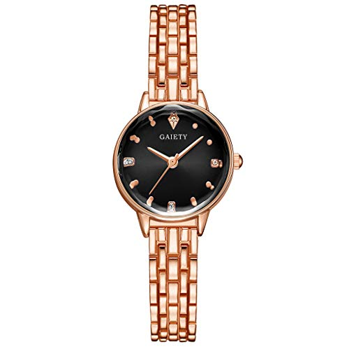 LUXISDE Watch Women European and American Simple Casual Fashion Masonry Scale Exquisite Ladies Watch C