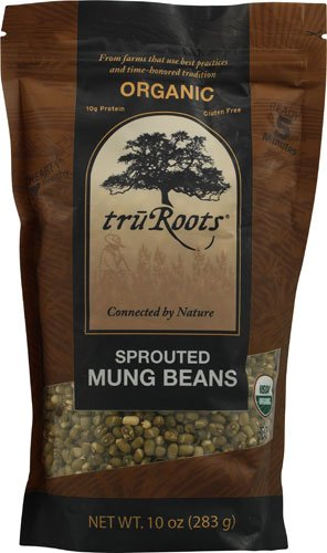 TruRoots Organic Sprouted Mung Beans -- 10 oz - 2 pc