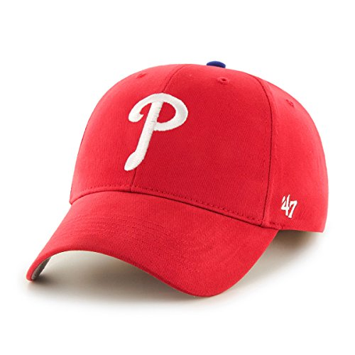 (MLB Philadelphia Phillies Toddler '47 Basic MVP Adjustable Hat, Home Color)