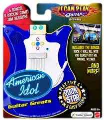 I Can Play Guitar Software - American Idol