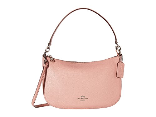 COACH Women's Pebble Chelsea Crossbody Sv/Peony One Size (Hawaii Peonies)