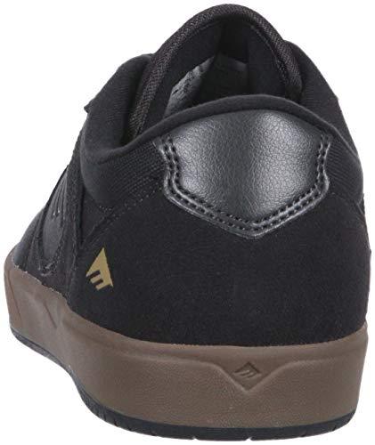 Pictures of Emerica Men's Dissent Skate Shoe 6101000110 Black Black 8