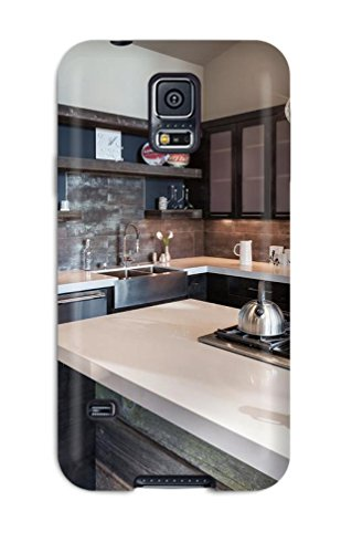 New Style AndersonCarlton Cooktop On Oversized Island In Industrial Kitchen Premium Tpu Cover Case For Galaxy S5