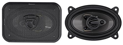 Pair Rockville RV46.3A 4x6'' 3-Way Car Speakers 500 Watts/70 Watts RMS CEA Rated by Rockville (Image #9)