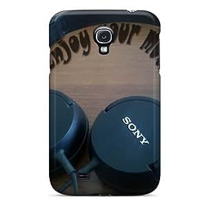 Pretty NuM2477UIdY Galaxy S4 Case Cover/ Enjoy Music Series High Quality Case