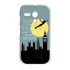 Motorola G Cell Phone Case White Peter Pan SLI_690182
