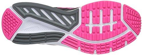 Nike Womens Dart 12 Loopschoen Zwart / Pnk / Blast / Cl Gry / Drk Gry
