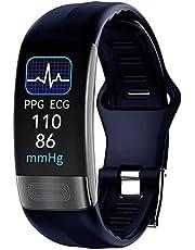 P11plus Dames Smart Horloge ECG + PPG Hartslag Monitor Slaap Bloeddruk Horloge Heren Fitness Tracker Horloge Stappenteller Smart Bracelet Sports Horloge
