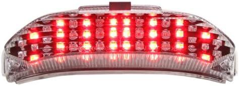 Led Tail Light HONDA 2007-2012 CBR600RR Built inTurn Signals Clear Lens