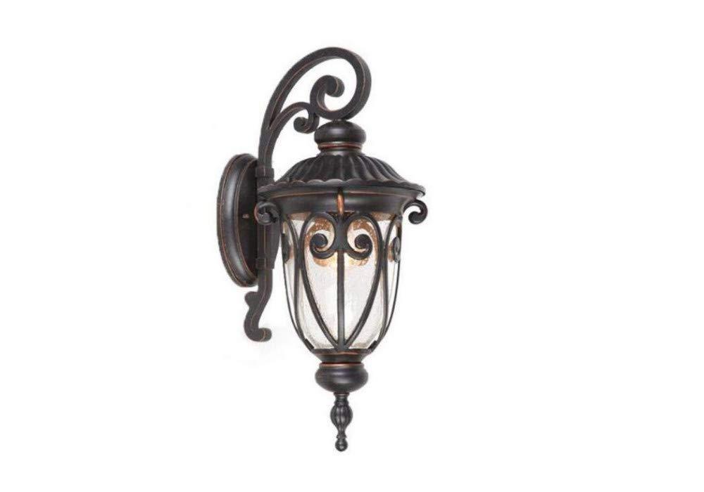 Lampada Balcone Esterno Parete Impermeabile Lampada da parete Lampada da giardino Lampada da parete per esterni Giardino Retro Illuminazione