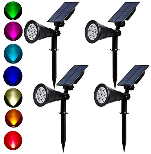 Changing Coloured Solar Garden Lights