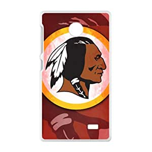 Malcolm Washington Redskins Logo Fashion Comstom Plastic case cover For Nokia Lumia X