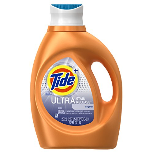 Tide Ultra Laundry Detergent - Tide Ultra Stain Release Liquid Laundry Detergent, Original - 92 oz