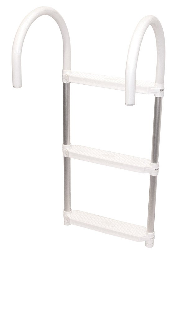 Shoreline Marine Ladder Aluminum 3 step Folding