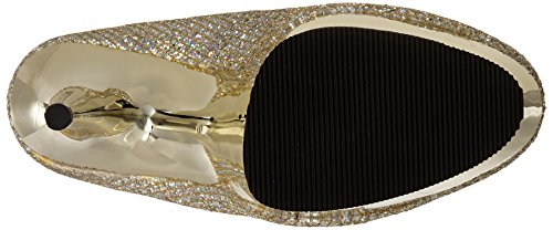 Gold Tacones Pleaser Mujer 685g Chrome Gltr Multi gold Delight qUxITw7z