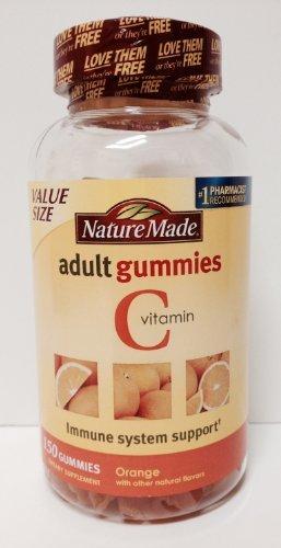 Nature Made Adult Gummies Vitamin C, Orange, 150 Count Value